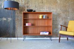 Bücherregale - 60er Teak STANDREGAL Regal DANISH DESIGN 60s - ein Designerstück von stilraumberlin bei DaWanda