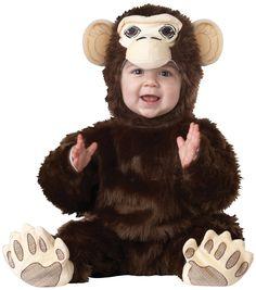 California Brown Chimpanzee Costume @Looksgud.in #California, #ChimpanzeeCostume