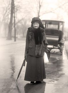 Mary Custis Lee, daughter of famed Confederate General Robert E. Lee. 1914