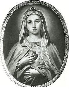 theraccolta:  The Immaculate Heart of Mary by Nicolo Barabino