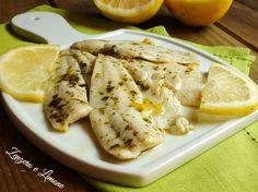 filetti di platessa al limone