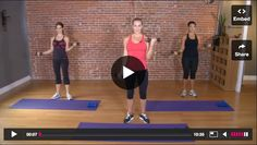 Ten Minute Arm Circuit from Andrea Orbeck