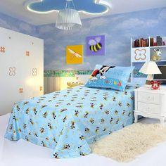 Mickey Mouse Sky Blue Style3 Disney Sheet Set