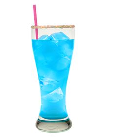 The Hpnotiq Hurricane is a blue drink made from Hpnotiq liqueur, rum, lemon juice, orange juice and club soda, and served in a sugar-rimmed pilsner glass. Hpnotiq Drinks, Wine Cocktails, Cocktail Recipes, Alcoholic Drinks, Blue Drinks, Mixed Drinks, Cocktail Shots, Happy Hour Drinks, Recipe Details