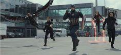 Algunas imágenes de Captain America: Civil War
