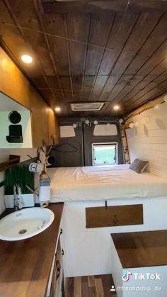 Van Conversion Interior, Camper Van Conversion Diy, Van Conversion With Bathroom, Campervan Conversions Layout, Van Conversion Bathroom, Ford Transit Camper Conversion, Van Conversion Layout, Diy Van Conversions, Motorhome Conversions