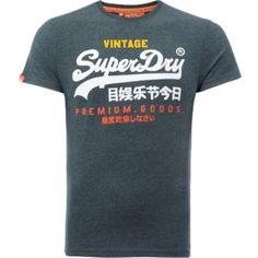 T-Shirt mit buntem Logo-Print