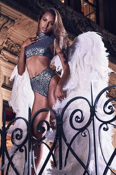 This holiday party has a guest list of 2. | Victoria's Secret