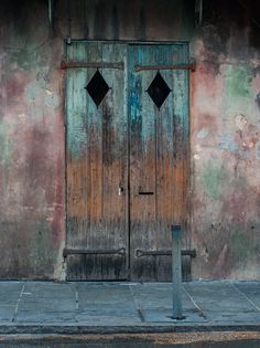 Rustic Door, French Quarter, New Orleans Photography