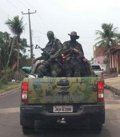 De Cara  Com a Verdade : G. Dias MA, o seu diário de notícias.: Homens da Cara Preta partem para o confronto com a...