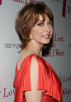 Here's a fun, youthful style that looks great on women over 50: the shag. Sharon Lawrence pairs her layers with a pretty red color. More Hairstyles for Older Women