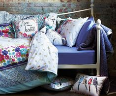 If it's time to give your bedroom a makeover, take a look at this beautiful selection of bedding and accessories - which are certain to make it even more difficult to get up in the mornings!