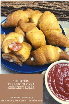 Air Fryer, Pepperoni Pizza Crescent Rolls - Fork To Spoon