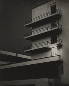 Bauhaus, March 26, 1929. Gelatin silver print, Credit: Bauhaus-Archiv Berlin. Lyonel Feininger was actually one of the 20th century's most important American avant-garde artists: at various times a Cubist, Expressionist, and Secessionist. He's also well known as one of the Bauhaus's original faculty, and was even a distinguished newspaper comic strip artist.