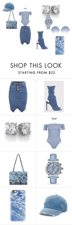 """""""chill"""" by renyawhite on Polyvore featuring Boohoo, Allurez, Casetify, Mudd and Linda Farrow"""