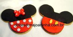 Resultado de imagem para biscoitos decorados mickey