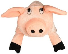 Beistle 60627 Plush Pig Hat