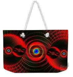 """Weekender Tote Bag featuring digital art """"Worlds Apart Firestorm"""" by ArankaArts Art Bag, Weekender Tote, Cotton Rope, Bag Sale, Art World, Zipper Pouch, Marines, Digital Art, Bags"""