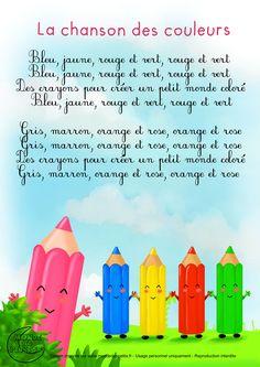 Paroles_La chanson des couleurs
