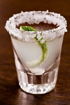 Key Lime Pie  2 parts Pinnacle® Key Lime Whipped® Vodka  Splash of half & half  Rim shot glass with sugar.  Shake with ice, strain into chilled shot glass.