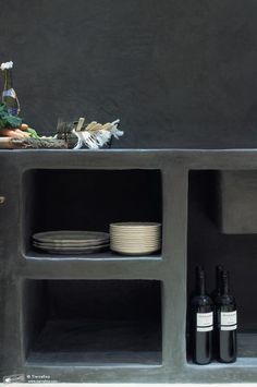 Seamless Tadelakt Kitchen