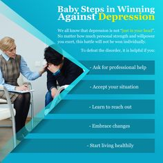 Baby Steps in Winning Against Depression Baby Steps, Willpower, Disorders, Depression, Learning, Study, Teaching, Studying, Education