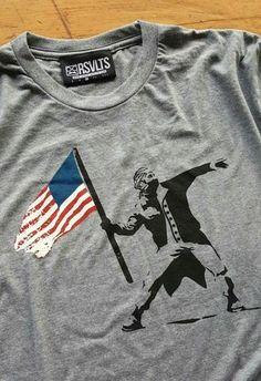 c6711b352 Washington Revolutionist Crewneck Tee Crew Neck, Washington, Collar Pattern