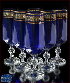 «Aleks-Crystal.com» - Bohemia crystal Champagne glasses! Crystal Wine Glasses, Crystal Champagne, Champagne Glasses, Bohemia Crystal, Bohemia Glass, Baccarat Crystal, Crystal Glassware, Silver Shop, Mason Jar Wine Glass