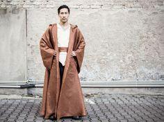 DIY-Anleitung: Star Wars: Jedi-Robe nähen via DaWanda.com