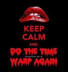 It's just a jump to the left And then a step to the riiiiiiiiiiiiiggghhtt  ---Rocky Horror Picture Show