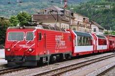 MATTERHORN-GOTTHARD-BAHN (MGB) is a narrow gauge railway in Switzerland. The track width is 1,000 mm (3 ft 3 3⁄8 in). It was created in 2003 through an amalgamation of Furka-Oberalp-Bahn (FO) and BVZ Zermatt-Bahn (BVZ). Its network is 144 km (89.5 mi) long and stretches from Disentis in the Canton of Graubünden to Zermatt in the Canton of Wallis, by way of the Oberalp pass and Andermatt in the Canton of Uri, the Furka Base Tunnel, Brig, and Visp. From Andermatt, a branch line (the formerly…