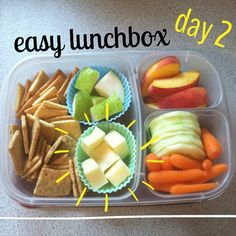 Quick and easy with #EasyLunchboxes Purchase EasyLunchbox containers HERE: http://www.easylunchboxes.com/