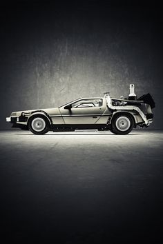 Delorean with upgrades... A Mr. Fusion and a Brown Industries Flux Capacitor