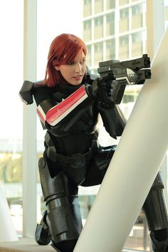 Commander Shepard - Mass Effect 3 Cosplay by Meaghan McCormack