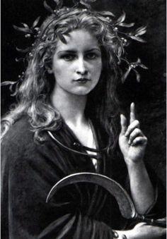 Druidic priestess who strongly resembles Orphenia Duchesne.