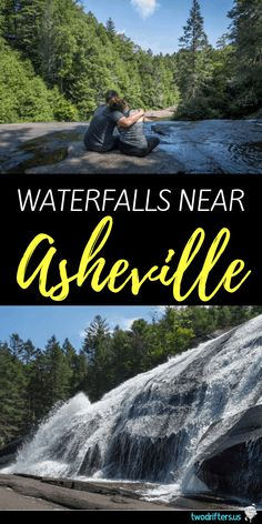 One of the Best & Easiest Waterfall Hikes Near Asheville NC