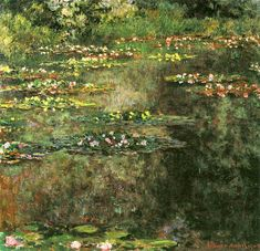 12. Claude Monet, Water Lilies (3), 1904
