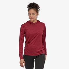 Patagonia Women's Capilene® Cool Daily Hoody Hanging With Friends, Body Size, Daily Fashion, Patagonia, Stretch Fabric, Fitness Models, Pure Products, Hoodies, Hiking Clothes