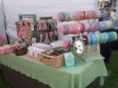 My little Craft Booth by Jimmypickles, via Flickr