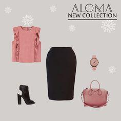 #collection_aloma   #Christmas_collection   discover this new skirt from aloma store   this what you can wear with this skirt  .   .   .   #elegant #fashion #aloma #love #followus #uae #dubai #mydubai #onlinestore #madewithlove #black   #ألوما #فاشن #موضه #إمارات #الخليج #دبي #أزياء #أبوظبي   www.alomastore.com