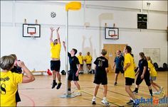 Korfball is a game very similar to basketball and netball, with mixed genders in each team. Although the sport was founded in 1902 in Netherland, it became popular throughout the world only after 1978, when the first international korfball championship was organized by International Korfball Federation. It is gaining popularity rapidly, with more than 580 clubs and over 100,000 players playing korfball around the world.