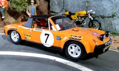 SRC 016 01. Porsche 914/6 GT. Rally Montecarlo 1971. Bjorn Waldegard-Hans Thorszelius. #slotcar Porsche 914, Decorating With Pictures, Day Plan, Picture Cards, Machine Design, Rally Car, Car Videos, Slot Cars, Physical Fitness