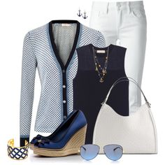 Tory ♥ Yacht Club, created by myfavoritethings-mimi on Polyvore