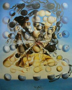 Salvador Dali Galatea of the Spheres art painting for sale; Shop your favorite Salvador Dali Galatea of the Spheres painting on canvas or frame at discount price. Salvador Dali Gemälde, Salvador Dali Quotes, Salvador Dali Paintings, Max Ernst, Most Famous Paintings, Famous Art, Surreal Art, Love Art, Oeuvre D'art