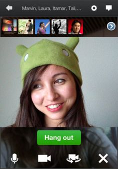 Google+ apps for Android, iOS updated with Hangouts tweaks. http://cnet.co/MAbbuD