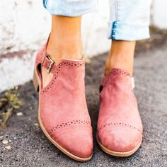 Spring Buckle Booties | 3 Colors!