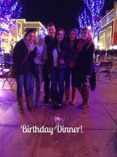 Vlog 8- Birthday dinner November 30th, 2013