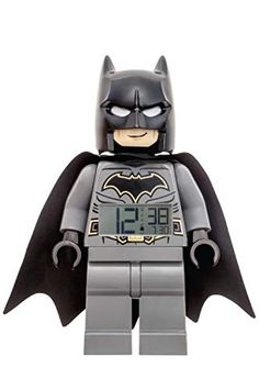 Original lego alarm clock lego Batman alarm clock Order number: EAN: 0887637001064 Lego style alarm clock Digital time display Size: 22 cm LED lighting when pressing the head Batteries are included Internal reference: 62400220 . Batman Lego, Lego Dc, Digital Clock Radio, Radio Alarm Clock, Figurine Batman, Gotham, Digital Projection, Dc Comics, Ebay