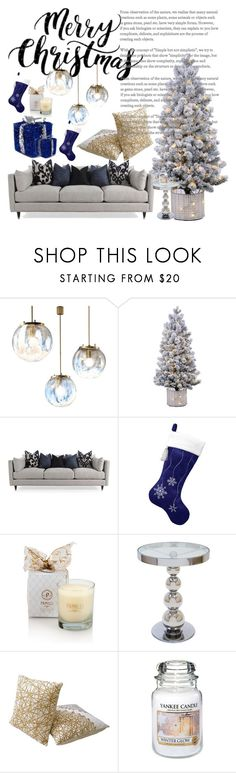 """""""Christmas: Winter"""" by kikiseppr on Polyvore featuring interior, interiors, interior design, home, home decor, interior decorating and Yankee Candle"""