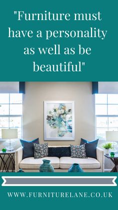Furniture must have a personality as well as be beautiful Home Furniture, Furniture Design, Personality, Room Ideas, Lounge, Living Room, Bedroom, Fashion Design, Beautiful